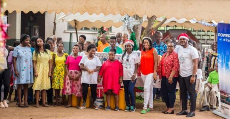 Karpowership Ghana spreads Xmas cheers to New Horizon Special School