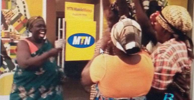 MTN Gives Away 2-Bedroom House To Woman Who Played Lead Role In First MOMO Ad