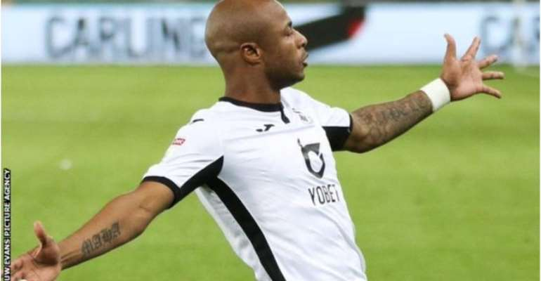 Watch Andre Ayew's Winning Goal Against Luton [VIDEO]