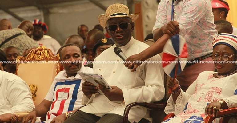 Spread the good news of the NPP, Ghanaians naturally love our party – Kufuor charges