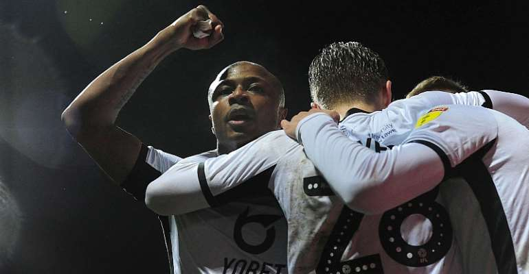 Red-Hot Andre Ayew Pledges To Keep Scoring After Scoring His 10th Goal For Swansea