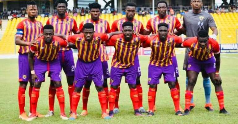2019 President Cup: Hearts of Oak Anounce Starting XI Against Kotoko