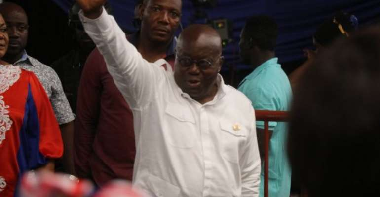 NPP Delegates Conference: Akufo-Addo chronicles his tour of the country