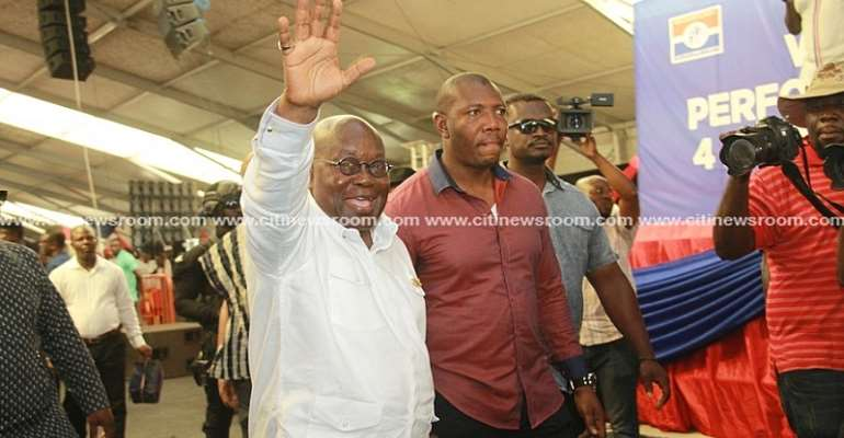 Ghanaians all over the country want 'four more for Nana' – Nana Addo