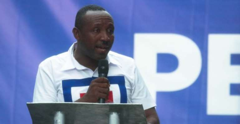 General Secretary of the NPP, John Boadu