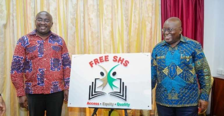 We won't allow Mahama to come and cancel Free SHS - Akufo-Addo