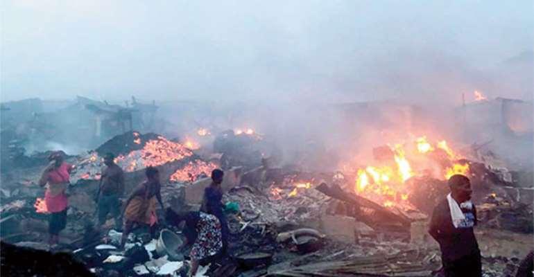 Market Fires, Riotous Demos