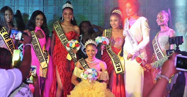LOCKDOWN EDITION: 22 Years Old Ezekiel Chidimma Emerges Most Beautiful Girl In Abuja 2020