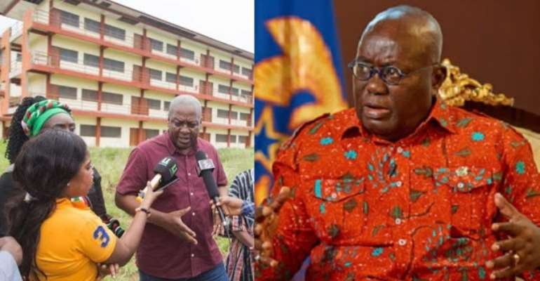 Jealousy and greed inspired Akufo Addo to abandon uncompleted projects by the former Ghanaian leader, John Mahama