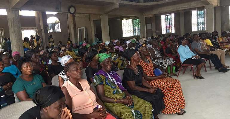 A cross section of the beneficiaries