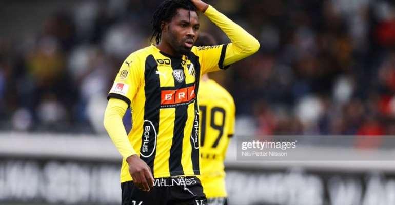 Swedish Club Falkenbergs FF Sign Ex-Hearts Striker Kwame Kizito