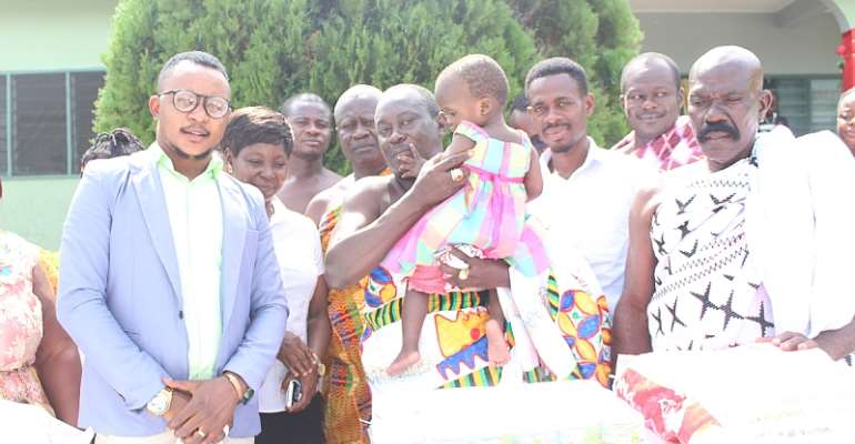 Ejura Kontihene Celebrates Birthday at Orphanage In Asante Mampong