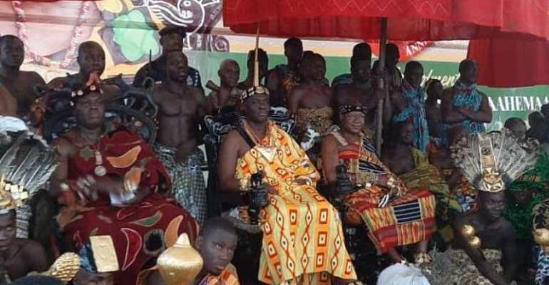 Thousands Attend Kwafie Festival Grand Durbar