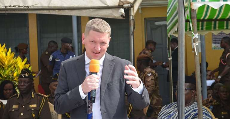 British High Commissioner to Ghana, HE. Iain Walker