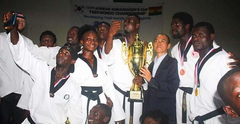 Greater Accra Taekwondo Coach Max Commends Athletes For Winning 2019 Korea Ambassador's Cup
