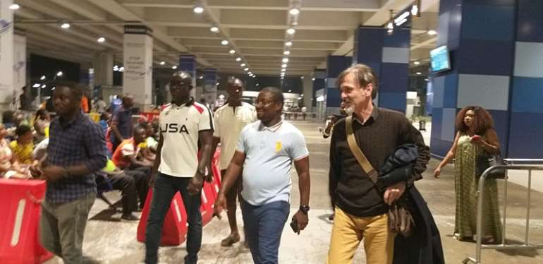 Goran Barjaktarevic Arrives In Ghana To Completes Wa All Stars Deal