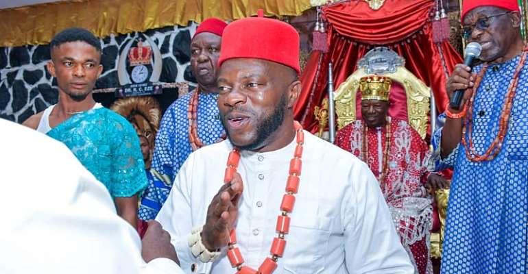 Engr Johnbosco Onunkwo Attends Ofala Festival Of Ukpo Dumukofia [Pictures]