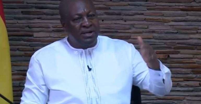Mahama Challenges Akufo-Addo To Sack 40 Of His Ministers