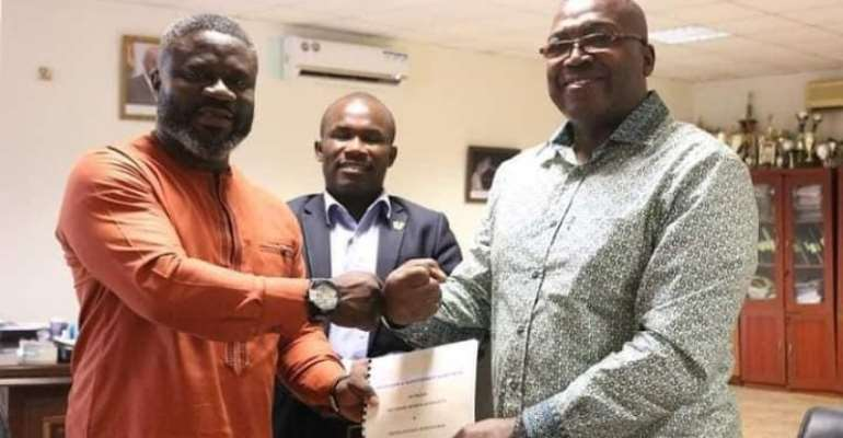 NSA, Ghana Hockey Association sign operation and maintenance agreement