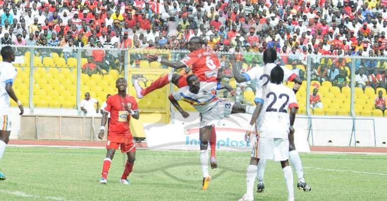 Match Report: Hearts Win Ghana@60 Anniversary Cup After Holding Kotoko In Kumasi