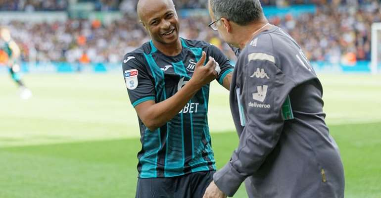 Andre Ayew Refuses To Discuss Leeds United Interest Amid Transfer Speculations