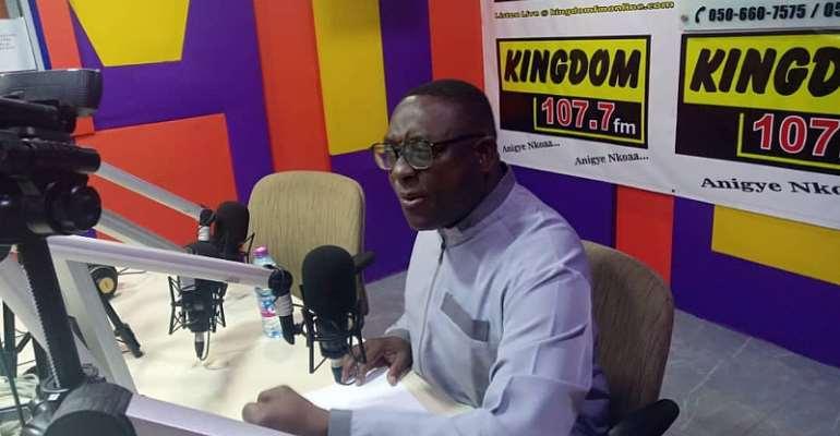 Mahama Criticizes Blindly And Lacks Ideas--Lawyer Buaben Asamoa