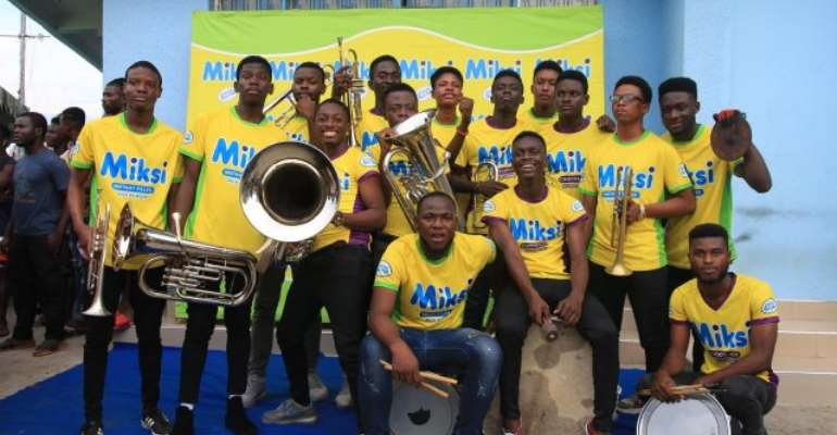 Adom Band win maiden edition of Miksi Brass Brand Tournament