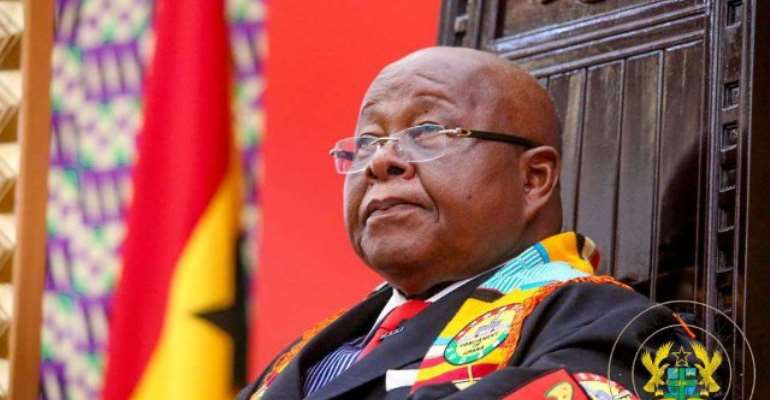 Speaker of Parliament Prof. Aaron Mike Oquaye