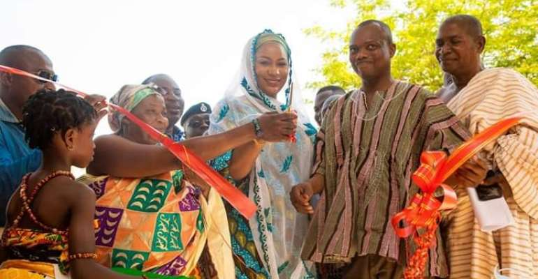 Samira Bawumia Commissions Badu Maternity Block