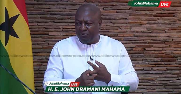 I'll complete Nana Addo's uncompleted projects if elected – Mahama