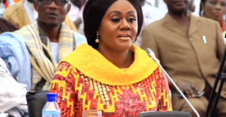 Minister for Tourism, Arts and Culture, Mrs Barbara Oteng-Gyasi,