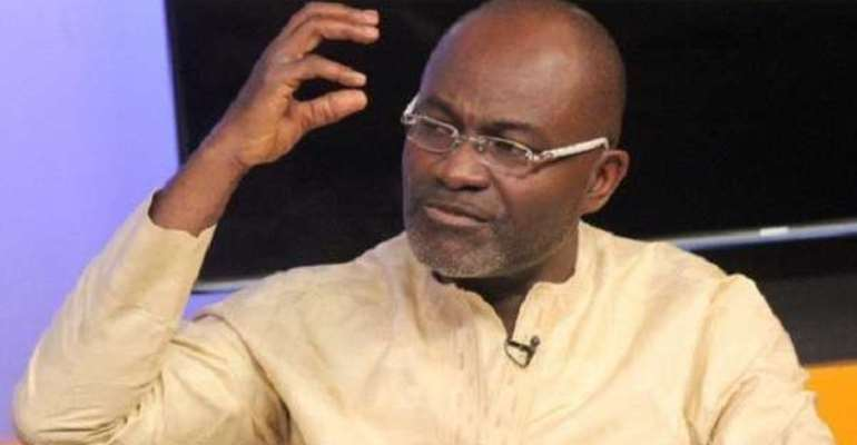 MP for Assin Central Constituency, Mr. Kennedy Ohene Agyapong