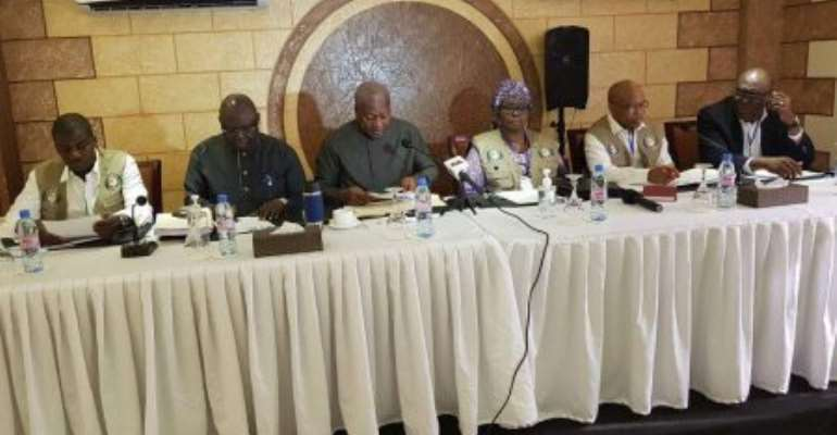 Mahama In Liberia To Observe Election Run-Off