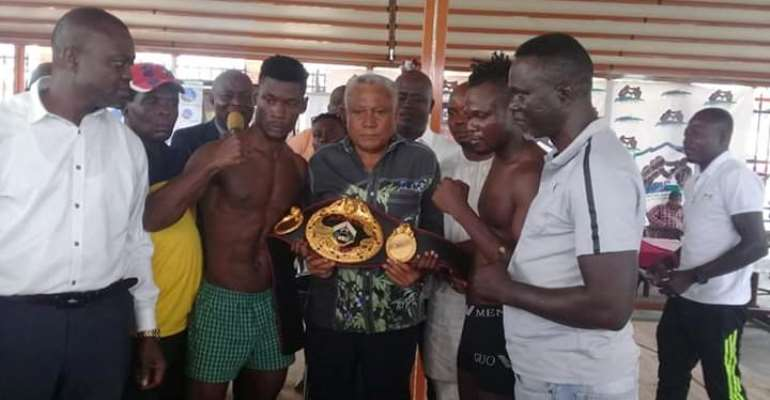 All Set For Cabic Christmas Eve Fight Night Boxing at Bukom Boxing Arena