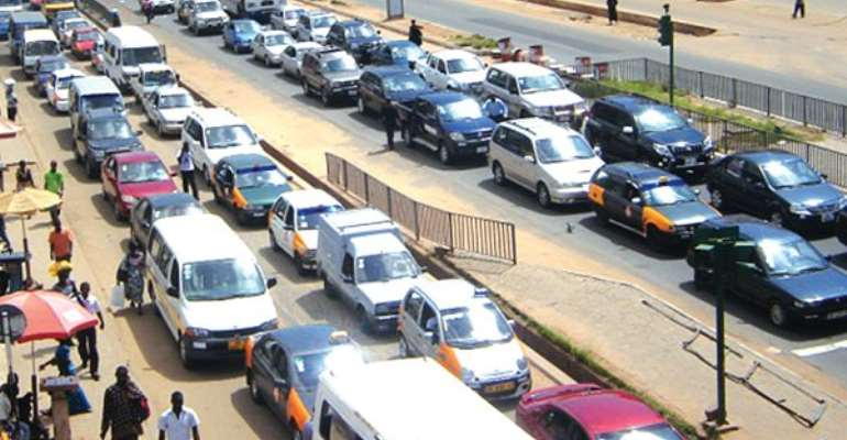 Accra Records Hectic Traffic Before Christmas