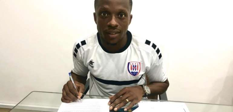 Inter Allies Completes George Apronti Signing