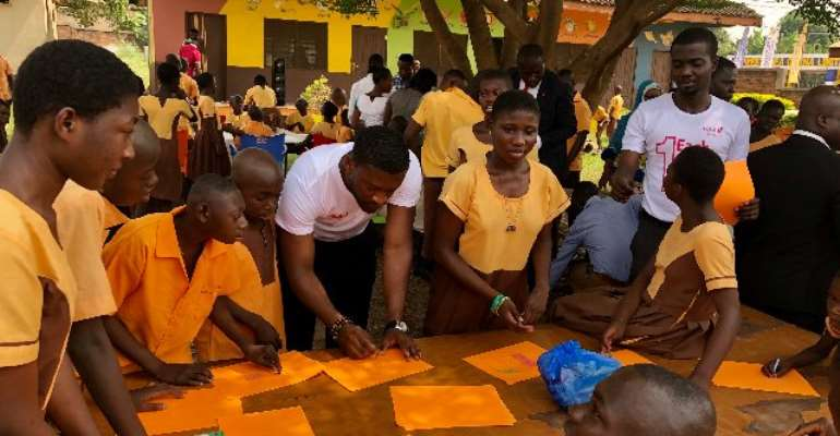 The programme was held to commemorate the 2019 edition of its annual Each-One-Teach-One initiative in Ghana and across other subsidiaries in Africa.