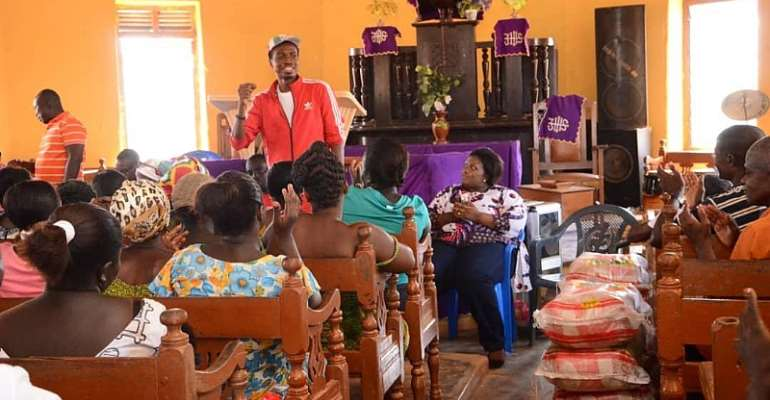Agona West NDC Parliamentary Candidate Celebrates Christmas With Constituents
