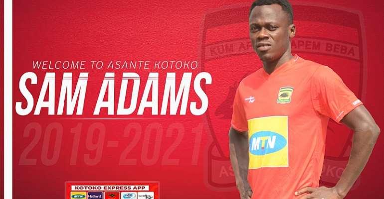 OFFICIAL: Asante Kotoko Sign Former Aduana Stars Winger Sam Adams