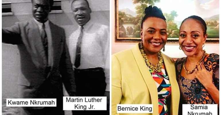 Kwame Nkrumah Versus Martin Luther King Jnr: Stars Shining In The Darkest Hour