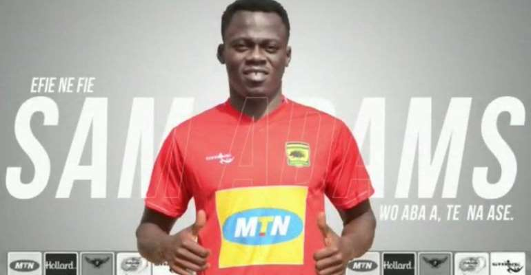 Asante Kotoko Confirm Sam Adams Signing