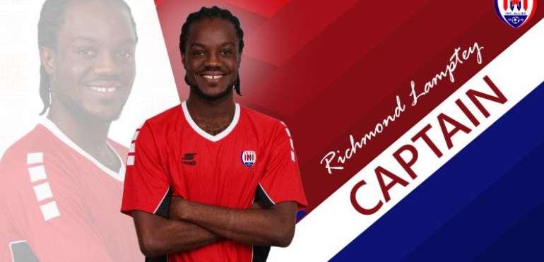 Richmond Lamptey To Captain Inter Allies For 2019/2020 GPL Season