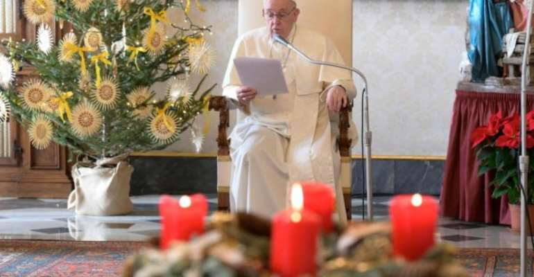 God is always with us — says Pope Francis in virus-gloom Christmas Eve Mass