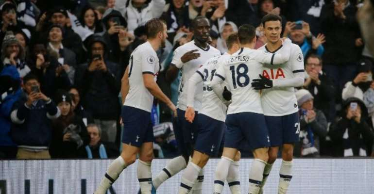 PL: Spurs Return To Winning Ways With Comeback Against Brighton