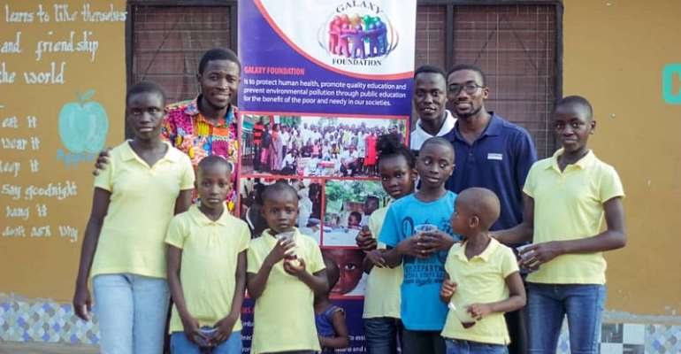 Eric Asubonteng Sponsored Galaxy Foundation To Offer Free Health Screening For The Inmates At Patmos