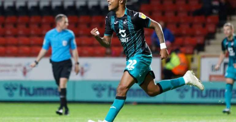 Andre Ayew's Goal Not Enough As Swansea Lose To Brentford