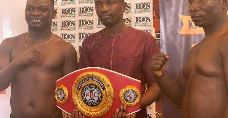 I Will Teach Bastie Boxing Lessons In Abetifi - Sunday Ajuwa Brags