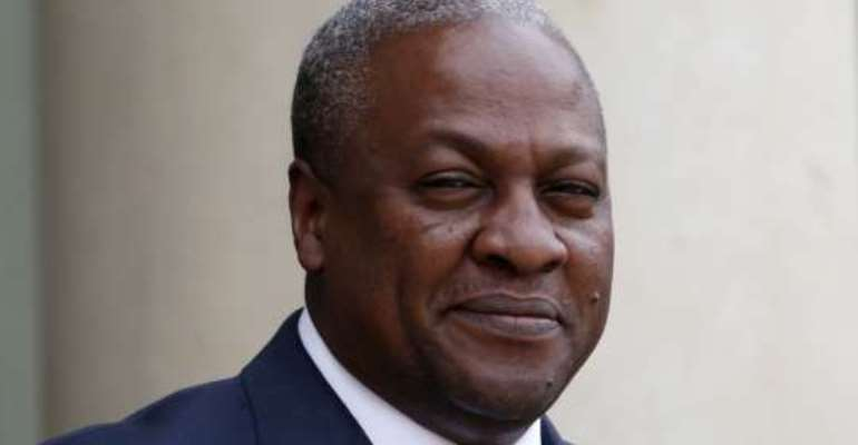 Mahama Calls For Peace In Liberia