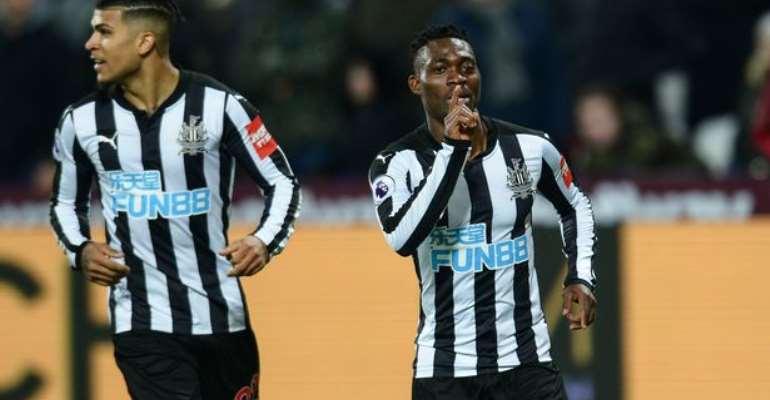 Newcastle Winger Christian Atsu Applauds Newcastle United Mental Strength