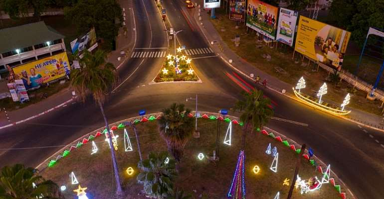Ghanaians Celebrate Christmas Too Late—Independence Avenue Decorator